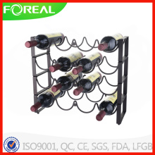 16 Bottles Unique Metal Wire Wine Holder