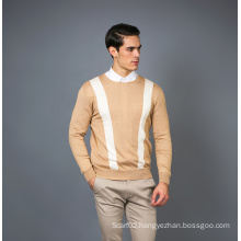 Men′s Fashion Cashmere Blend Sweater 17brpv090