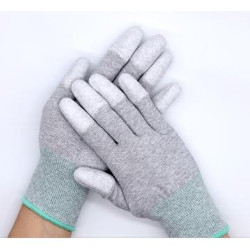 13Gauge antistatische Kohlefaser ESD Top Fit Handschuhe für Inspektionszwecke