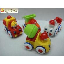 Coche de plástico de juguete de fricción de dibujos animados para la promoción