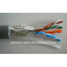copper lan cable double shielded cat5 cable OEM available