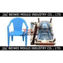 Molde plástico de imitação da cadeira do Rattan feito sob encomenda da injeção com braço