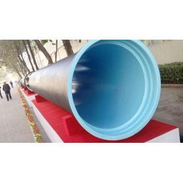ISO2531 BS EN545 test de pression de l'eau tuyaux en fonte ductile