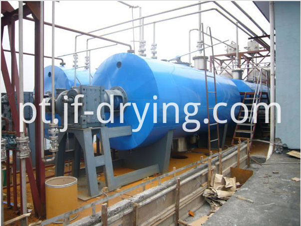 Vacuum harrow dryer machine (6)
