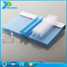 Vous trouvez des panneaux de couverture en polycarbonate en polycarbonate