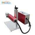 Мини-волоконный лазерный гравировальный станок для жетонов для собак