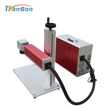 Mini machines de gravure laser à fibre pour étiquettes de chien