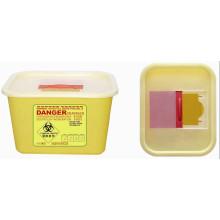 Plástico medicinal desechable contenedor de 4,0 l Sharp