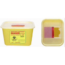 Disposable Medical Plastic 4.0L Sharp Container