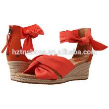 Женская мода высокой пятки насосы обувь оптом Китай Клин обуви для женщин