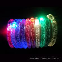 bracelets acryliques menés pour des enfants