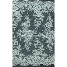 Оптовая вышивка французский подол кружева ткань /3D свадебный кружева вышивки