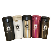 Wholesale high quality 380ml double layers stainless steel travel flask vacuum coffee mug
