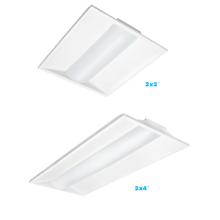 UL /ETL/DLC recessed led lighting 2x2 2x4ft led troffer, 125lm/w LED 2*4 TROFFER /RETROFIT KIT 24w-50W 3000K 4000K 5000K