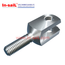 Stainless Steel Auto Parts Clevis with Male Thread