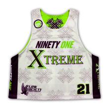 OEM Especializado Sublimated Lacrosse Jersey Fornecedor