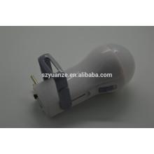 Lampe de poche rechargeable led solaire, lumières de travail rechargeables led