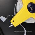 10m 30m 50m China Wholesale Measurement Tools Long Distance Elastic PVC Fiberglass Tape Measure 50 m