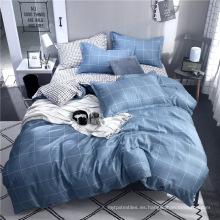 Juego de cama de lujo 100% textil para el hogar impreso