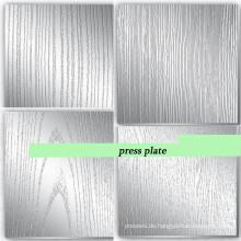 Standstahl-Pressplatte für Pressmaschine / 5mm Pressplatte