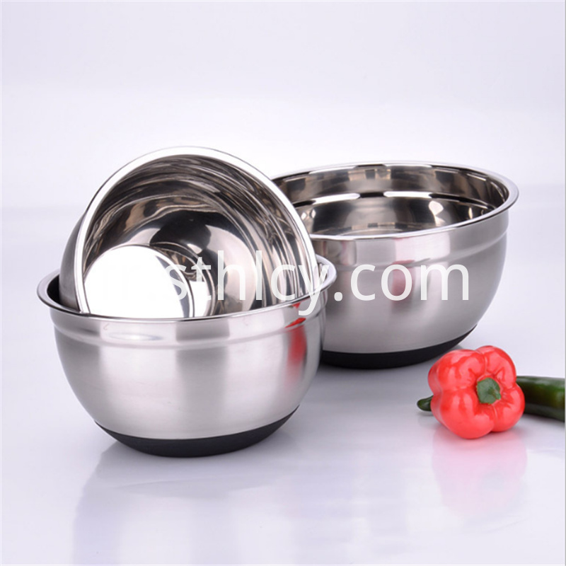 Stainless steel egg bowl salad bowl