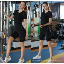 Женщины Фитнес-Одежды Спортивные Рубашки Йога Работает С Коротким Рукавом
