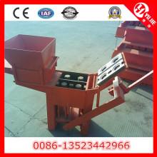 Machine de pressage manuelle de briques d'argile Qm2-40 à vendre