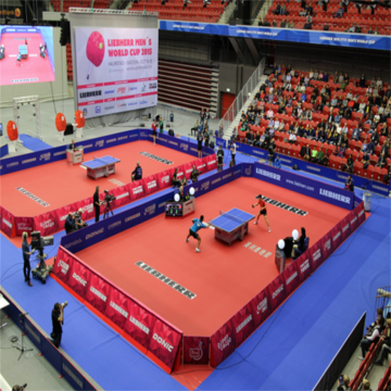 ITTF+approved+Pingpong+sports+PVC+flooring