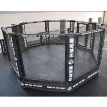 Factory Price International Standard Floor Boxing Ring Octagon Shape MMA Cage