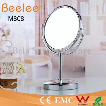 Ajustable Round Double Side Bathroom Makeup Loupe Mirror