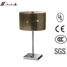 Good Electro-Plate and Simple Metal Bedside Table Lamp
