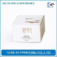 Caixa de impressão cosmética barata do pacote dos cuidados com a pele