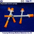 Jeringas de insulina desechables de 1cc Jeringas de insulina de 0.5cc Jeringas de insulina 0.3cc (ENK-YDS-053)