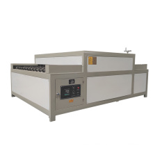 Insulating glass horizontal hot roller press machine for double glass making