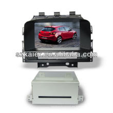 HIFI subwoofer wince sistema multimedia del coche para OPEL Astra J / Buick Excelle GT con 3G / Bluetooth / TV / IPOD / MP4 / MAP / multi-idioma