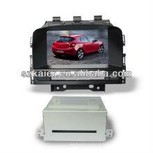 HIFI subwoofer estremecer multimídia carro do sistema para OPEL Astra J / Buick Excelle GT com 3G / Bluetooth / TV / IPOD / MP4 / MAPA / multi-linguagem