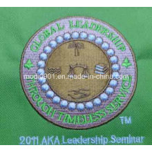 Beautiful Embroidery Logo Garment Accessory