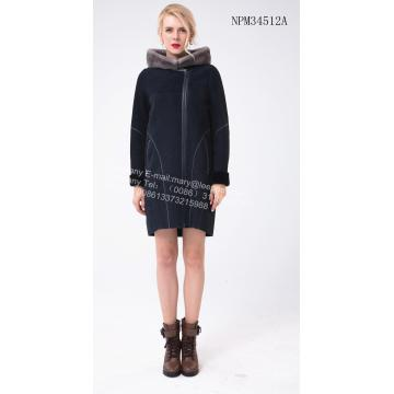 여성 스페인 Merino Shearling Jacket