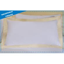Taie d'oreiller de literie de polyester de coton d'hôtel
