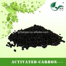charbon actif colonnaire utilisé dans la récupération du benzène