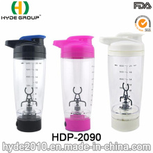 600ml Customized Plastic Vortex Shaker Bottle, BPA Free Plastic Electric Protein Shaker Bottle (HDP-2090)