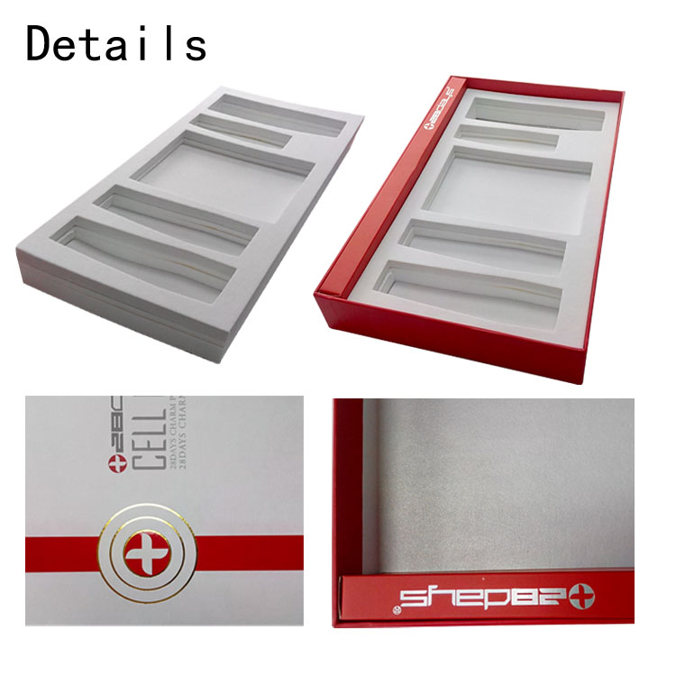 Popular Eco-friendly Materials Rectangle Top and Bottom Box