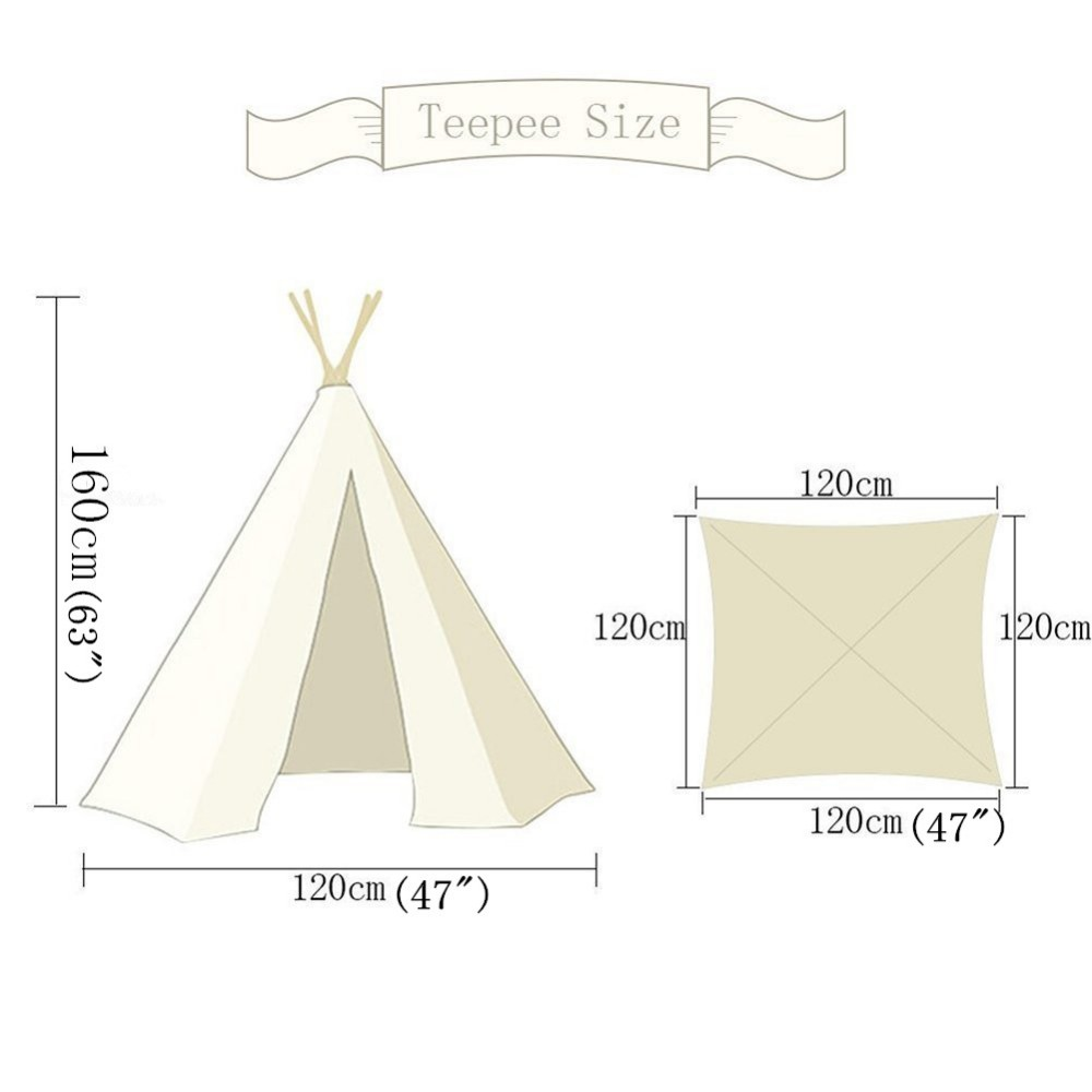 Indian Wigwam Style Cotton PrintingTent different size