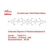 Фенокси-прекращено карбонатных олигомера на Тетрабромбисфенол-а д-58
