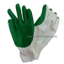 Dickgummi beschichtete Handschuhe Bausicherheit Arbeitshandschuh