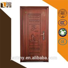 Steel swing hot selling security steel door with popular design