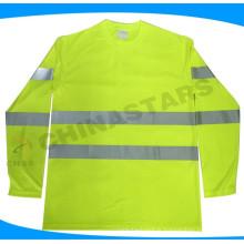 Chemise de sécurité homologuée ANSI à manches longues de classe 3