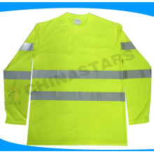 ANSI aprovado manga longa camisa de segurança Classe 3