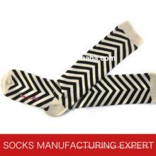 100% Cotton of Woman Coloful Tube Sock (UBM1050)