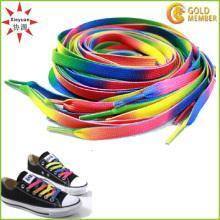 Polyester Cheap Custom Logo Shoelaces